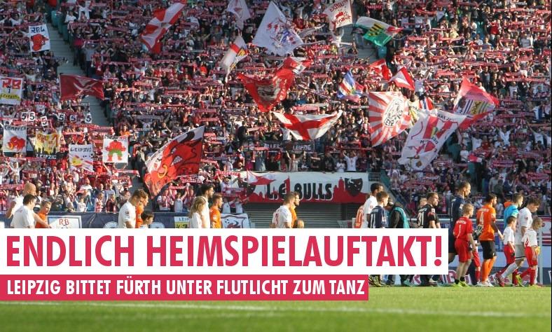 Rb Leipzig Empfängt Unter Flutlicht Greuther Fürth Rb Fansde