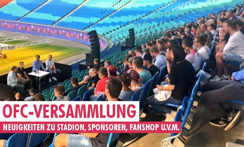Neuigkeiten Von Der Ofc Versammlung Zu Stadion Fanshop Sponsoren