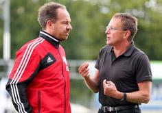 Alexander Zorniger und Ralf Rangnick